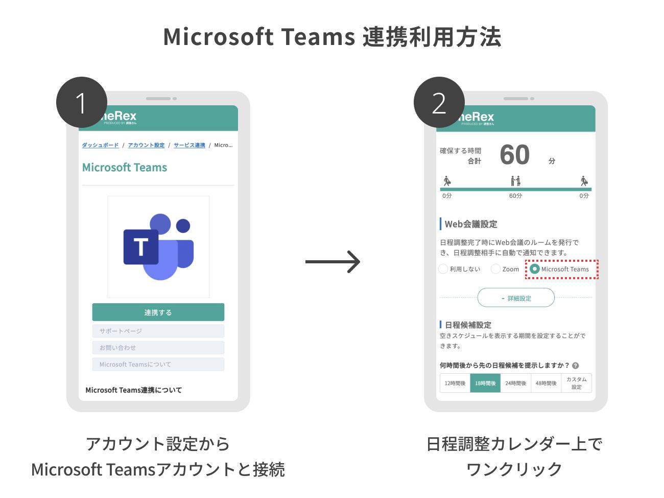 Teams連携利用方法